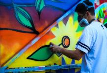 Pintar los muros del municipio, una propuesta para los grafiteros itagüiseños - Itagüí Hoy