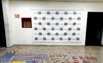 40 kilogramos de pólvora fueron incautados por la Policía en Itagüí - Itagüí Hoy