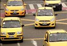 Paro nacional de taxista